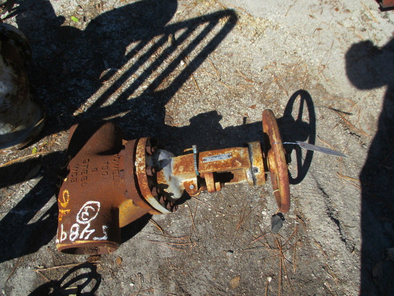 "WM Powell 6"" Industrial Gate Valve WCB Body Class 150 Butt Weld Ends - Business Equipment World"