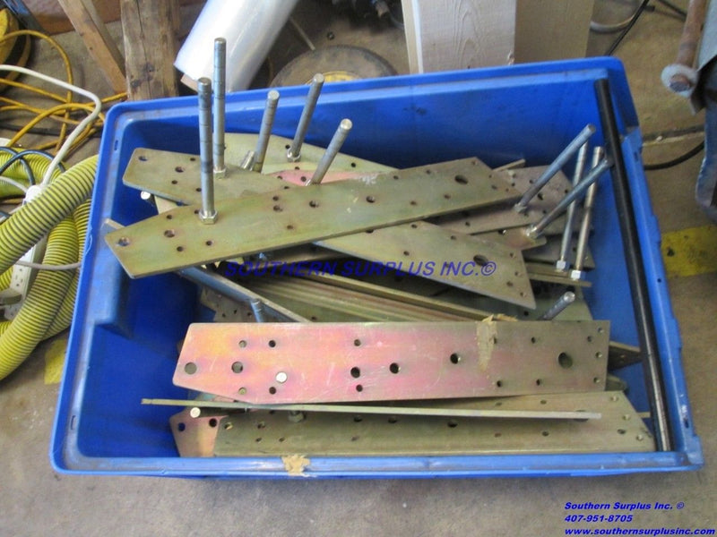 HUGE LOT OF Powers Pneumatic Damper Motor Actuator Pivot Mounting Plates WE SHIP - Business Equipment World