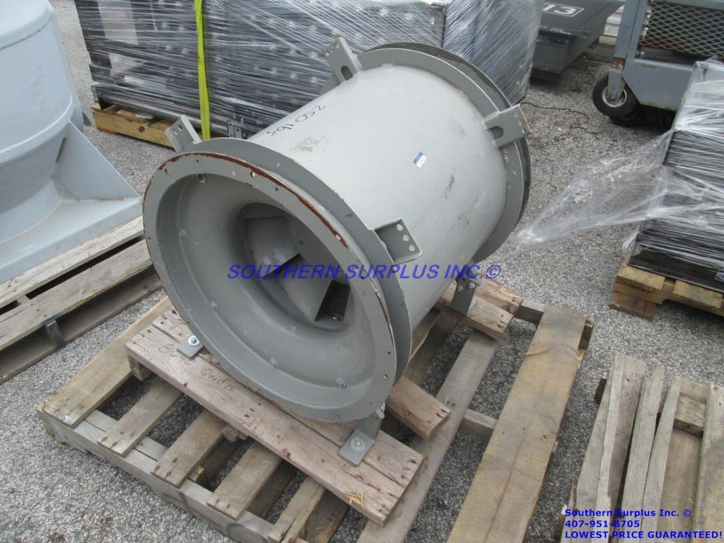 Greenheck QEID-15-85-A10 Mixed Flow Tubular Inline Ventilation Fan WE SHIP! - Business Equipment World