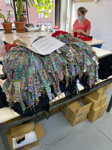 vendor spotlight only hearts, woman working with fabric