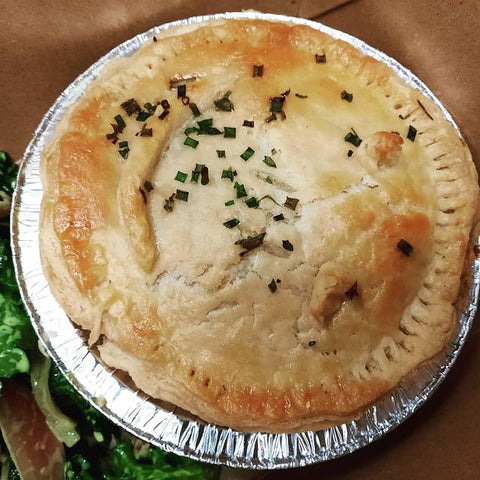 turkey pot pie, international friendship day with our bff jesse james laderoute