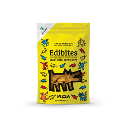400 MG Edibite Pizza Dog Treats