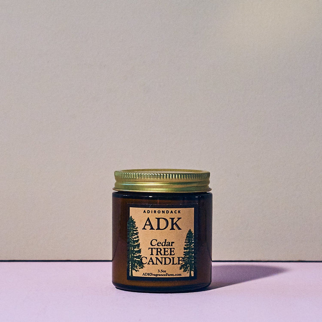 Adk Candle - Cedar Tree Adk Fragrance - Candle - Cedar -