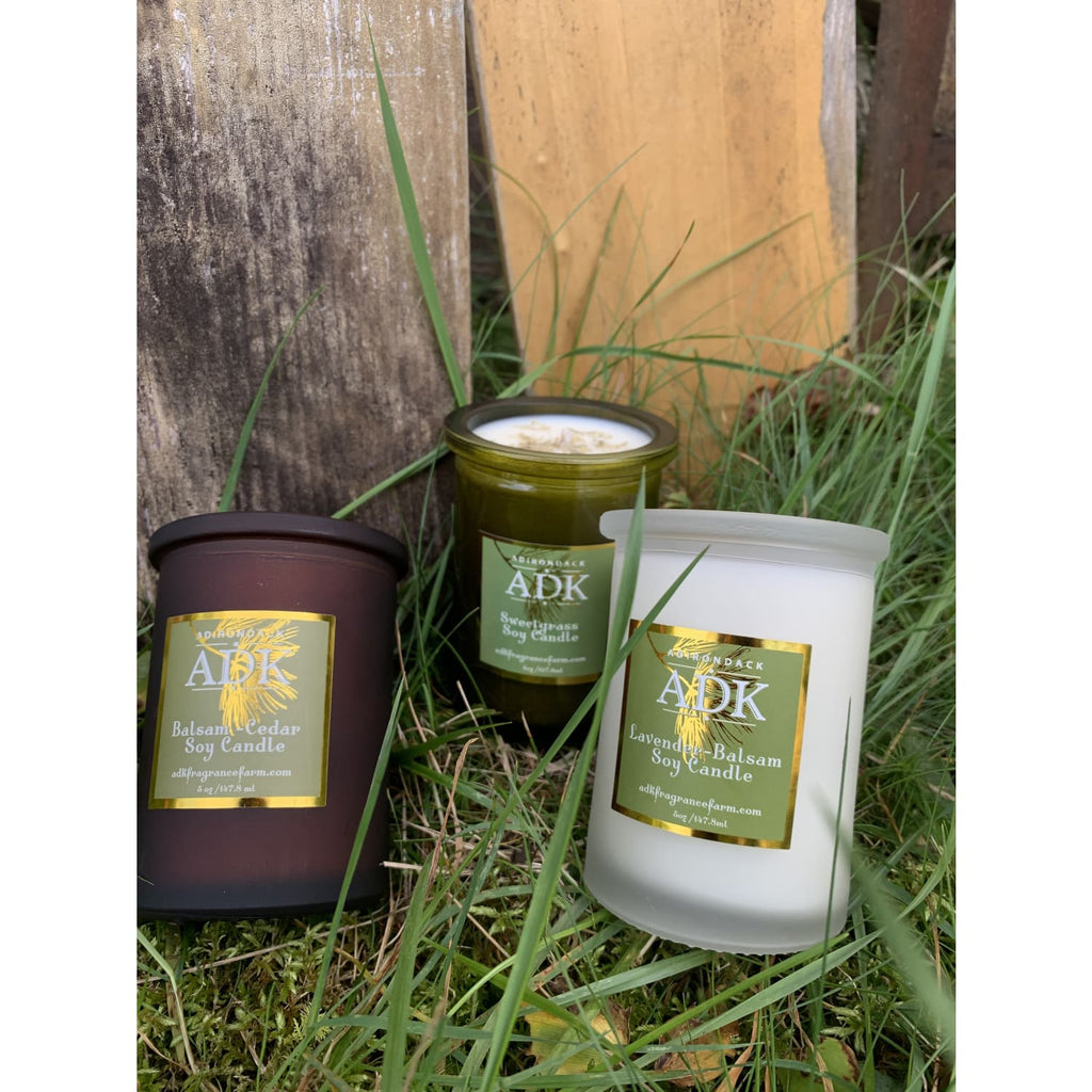 Adk Candle - Sweetgrass Adk Fragrance - Candle - Hand Poured