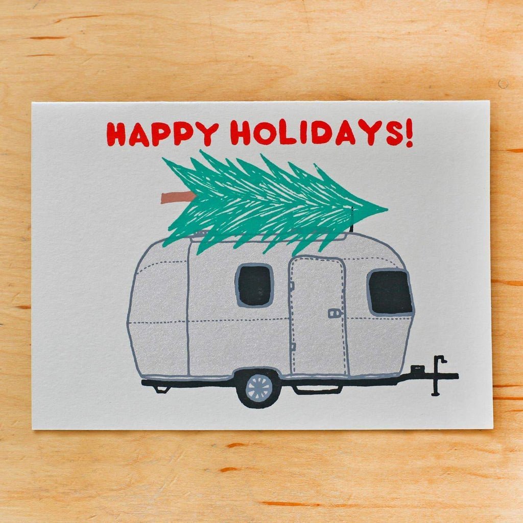Airstream Holiday Card Christmas - Cards - Gold Teeth