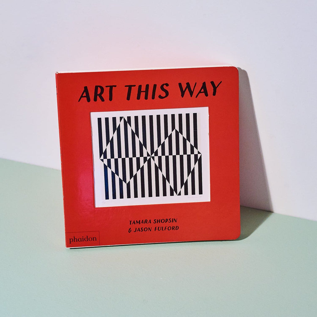 Art this way Art - Board Book - Children - Childrens -