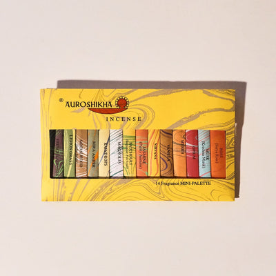 Auroshikha Incense Sampler - 14 Scents