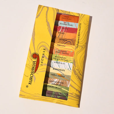 Auroshikha Incense Sampler - 14 Scents Auroshikha, Incense,