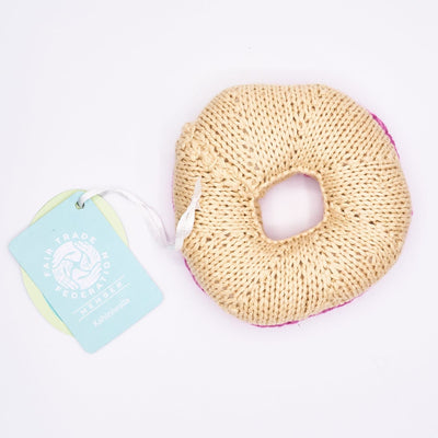 Baby Rattle - Donut Baby, Baby Gift, Rattle, Shower, Donut