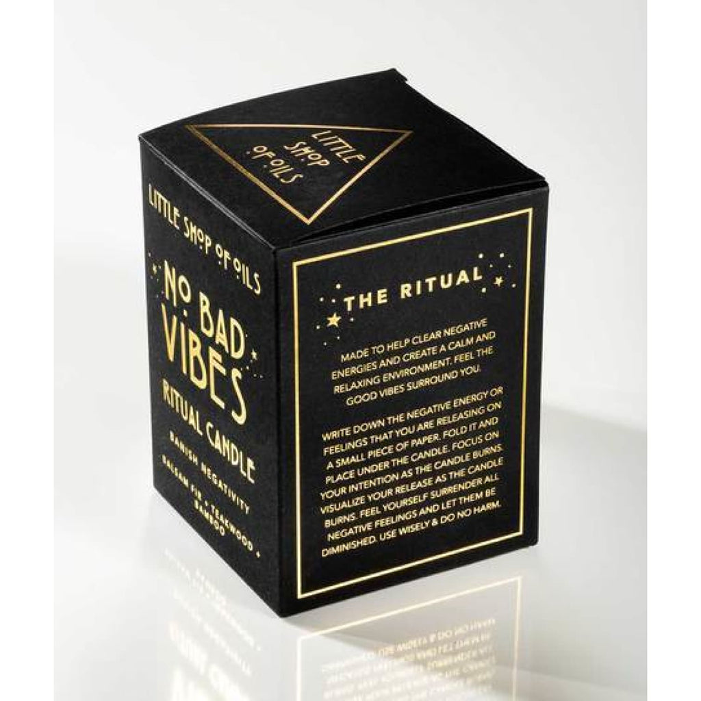 No Bad Vibes Ritual Candle Candle, Home, Home Goods, Wares,