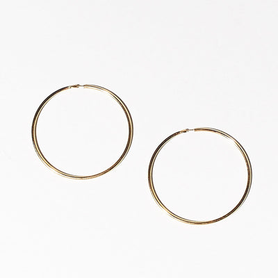 Basic Hoop - Gold
