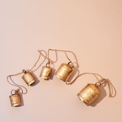 Bell Decor Chain Bell - Boho Home - Garland - Holiday 2020 -