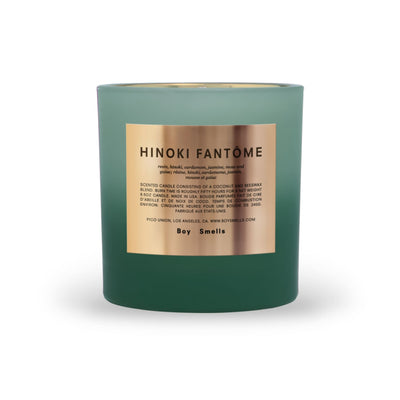 Boy Smells Holiday Candle - Hinoki Fantome