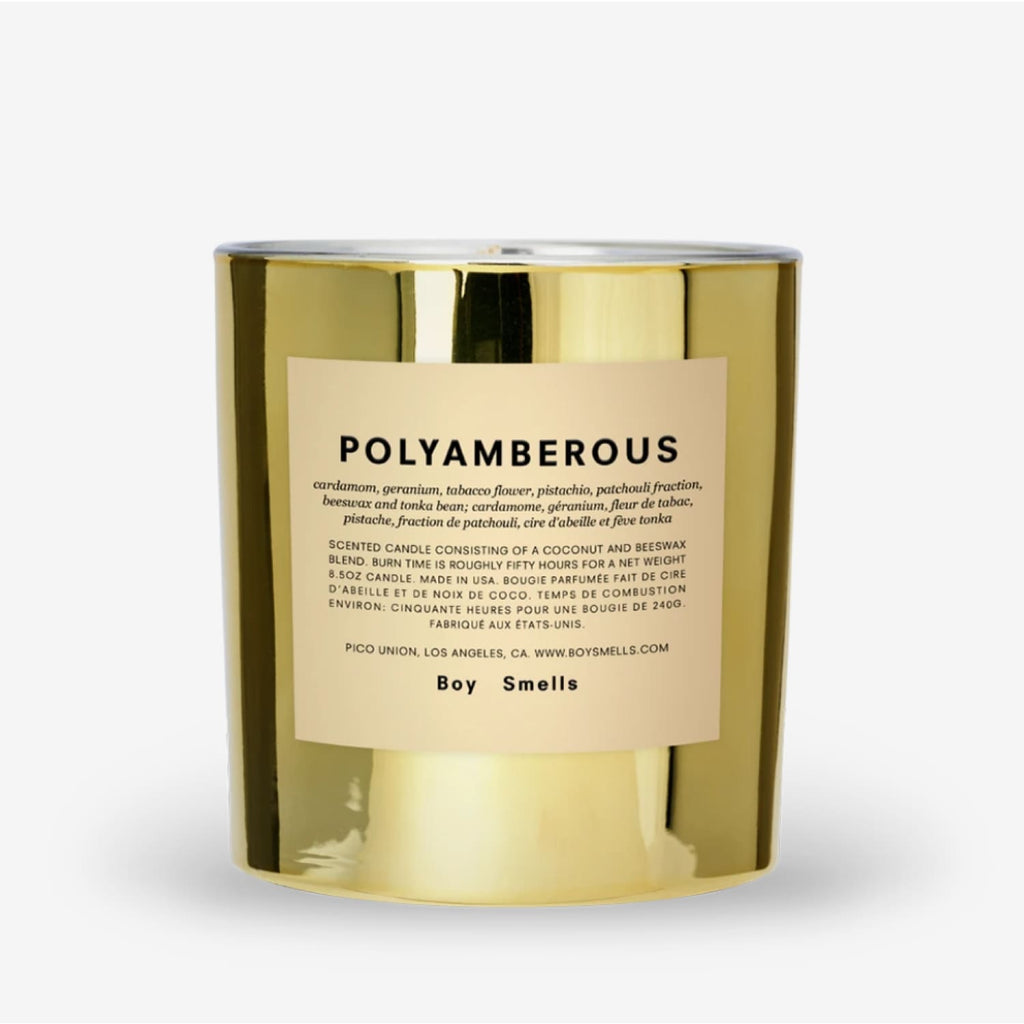 Boy Smells Hypernature Candle - Polyamberous Beeswax -