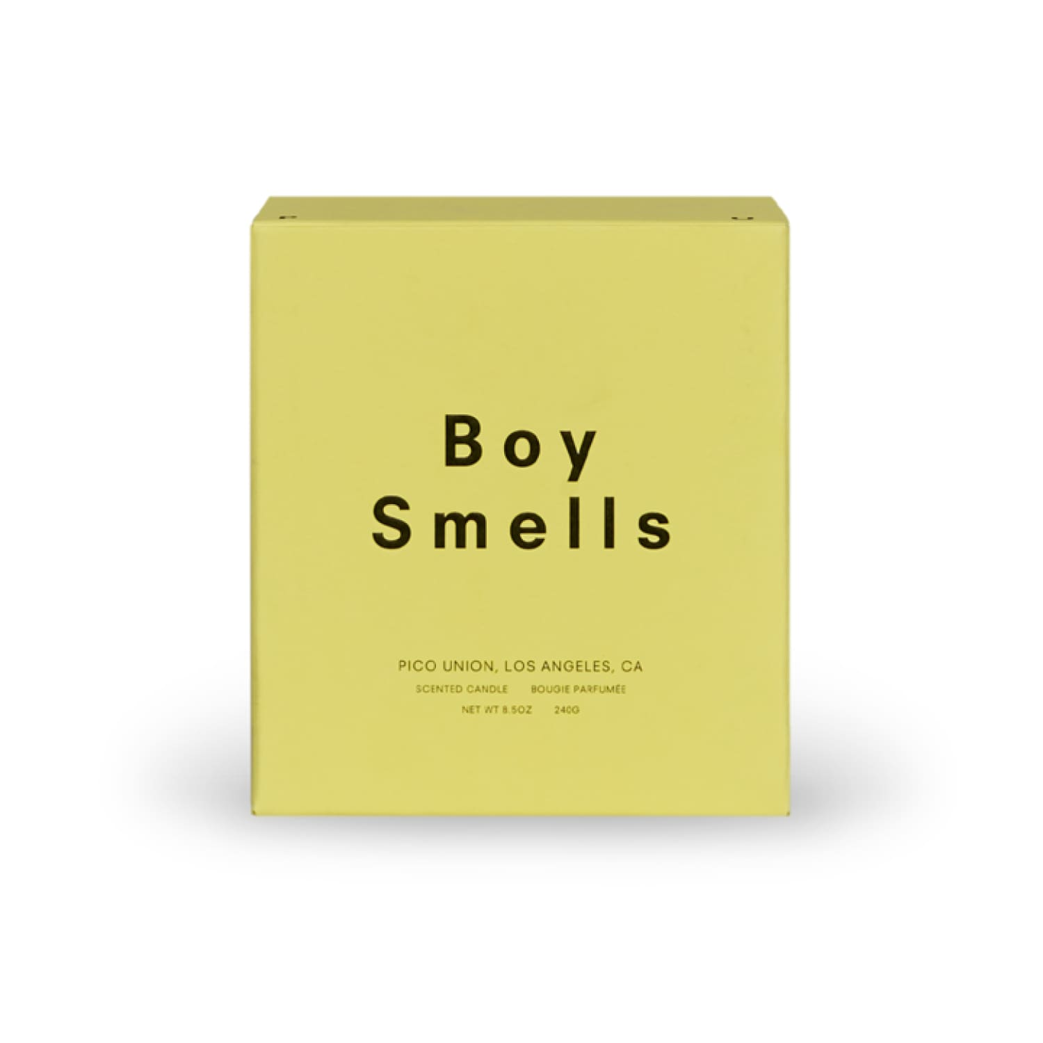 Boy Smells Pride Candle - Cedar Stack Beeswax Candle, Boy
