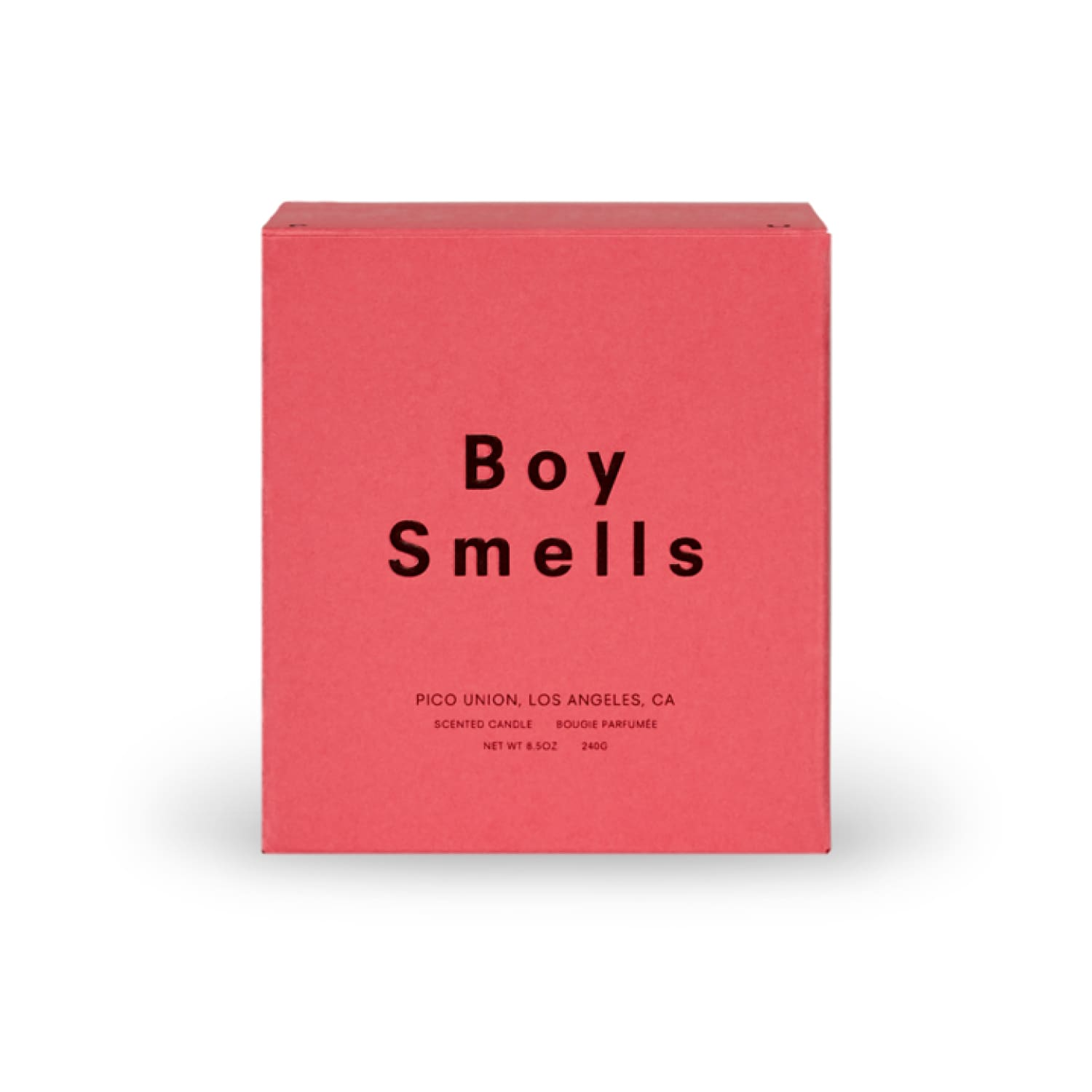 Boy Smells Pride Candle - Damasque Beeswax Candle, Boy