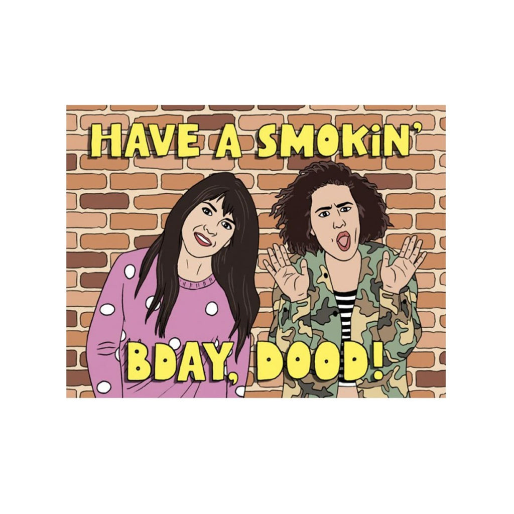 Broad City Birthday Card Abbi Jacobson, Birthday, Birthday