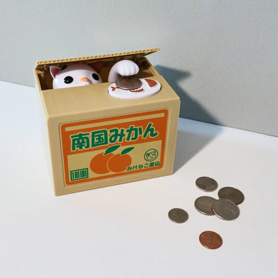 Cat Bank Box