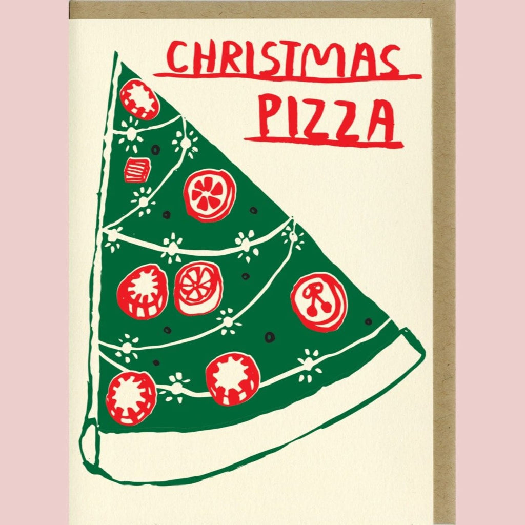 Christmas Pizza Holiday Card Christmas Cards - Food - Cards