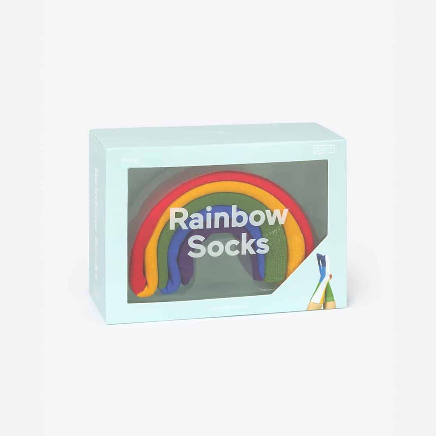 Classic Rainbow Socks Accessories - Doiy - Novelty - Pride -