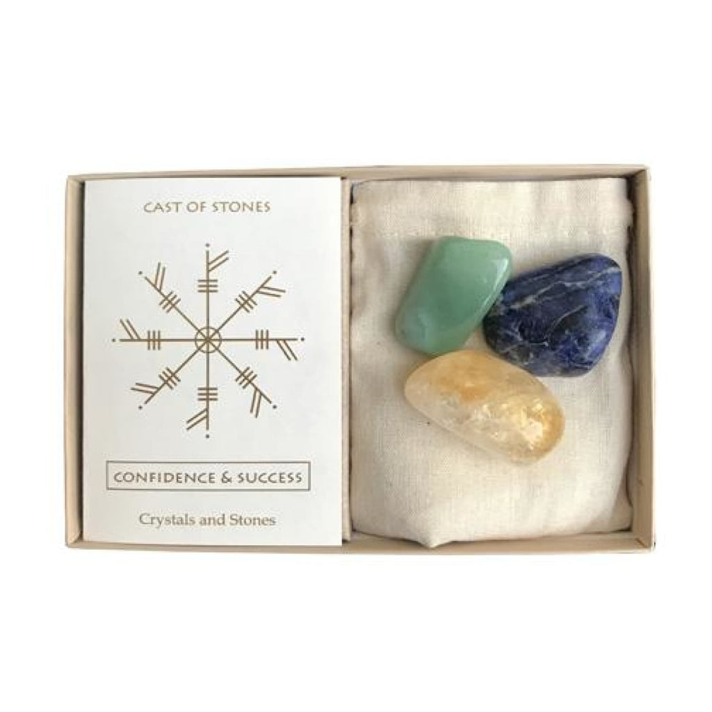 Confidence & Success Crystals and Stones Set Beginner