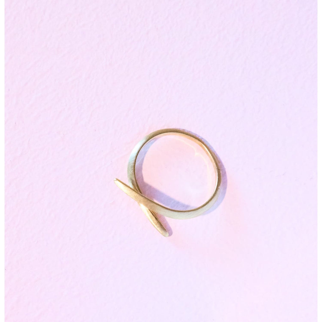 Curved Line Ring Gold Gold, Gold Jewelry, Ring, Omg Jewelz,