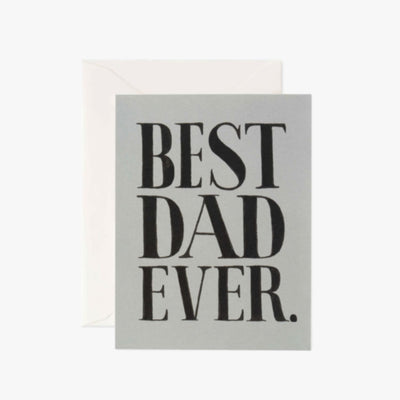 Best Dad ever Father's Day Card Card, Dad, Fathers Day, Day