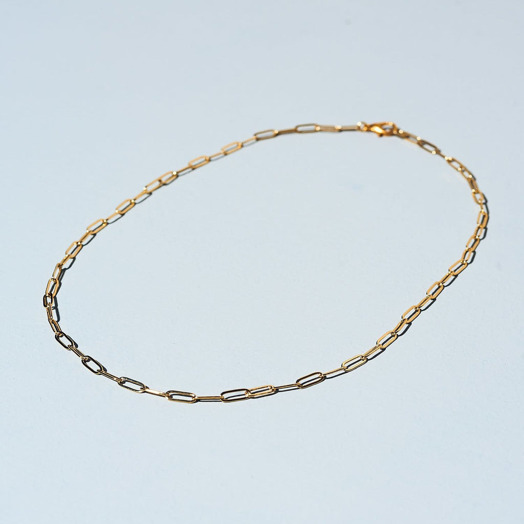 Round Link Chain Necklace Chain Link - Jewelry - Classic -