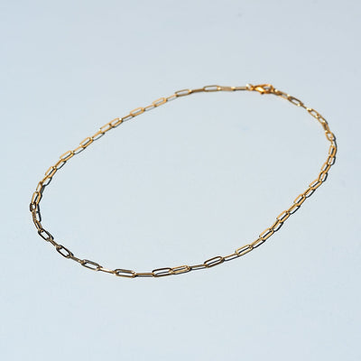 Dainty Chain Necklace - Gold Plated