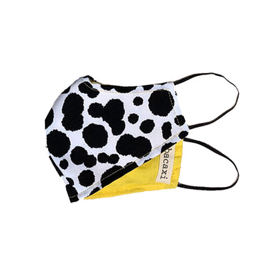 Dalmation Print Face Mask - Small