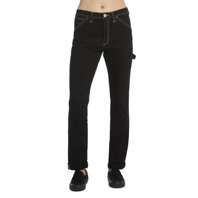 Dickies - Flex Slim Carpenter Pant - Black 90s, Black, Black