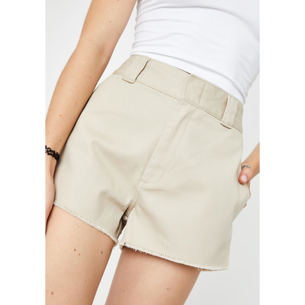 Dickies High Rise Frayed Short Carpenter, Carpenter Shorts,