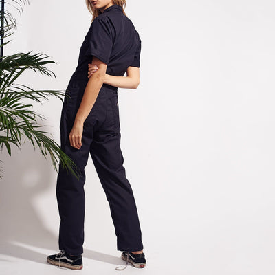 Dickies Short Sleeve Coverall - Black Dickies, Onesie, Short
