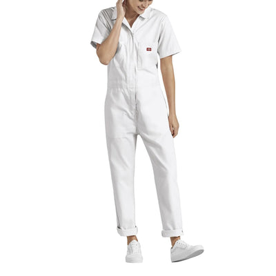 Dickies Short Sleeve Coverall - White
