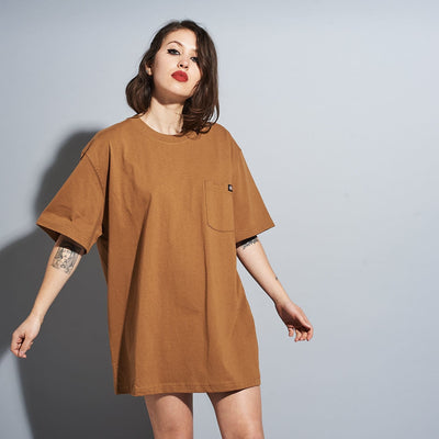 Dickies Short Sleeve Heavy Crew Tee - Brown Duck Dickies,