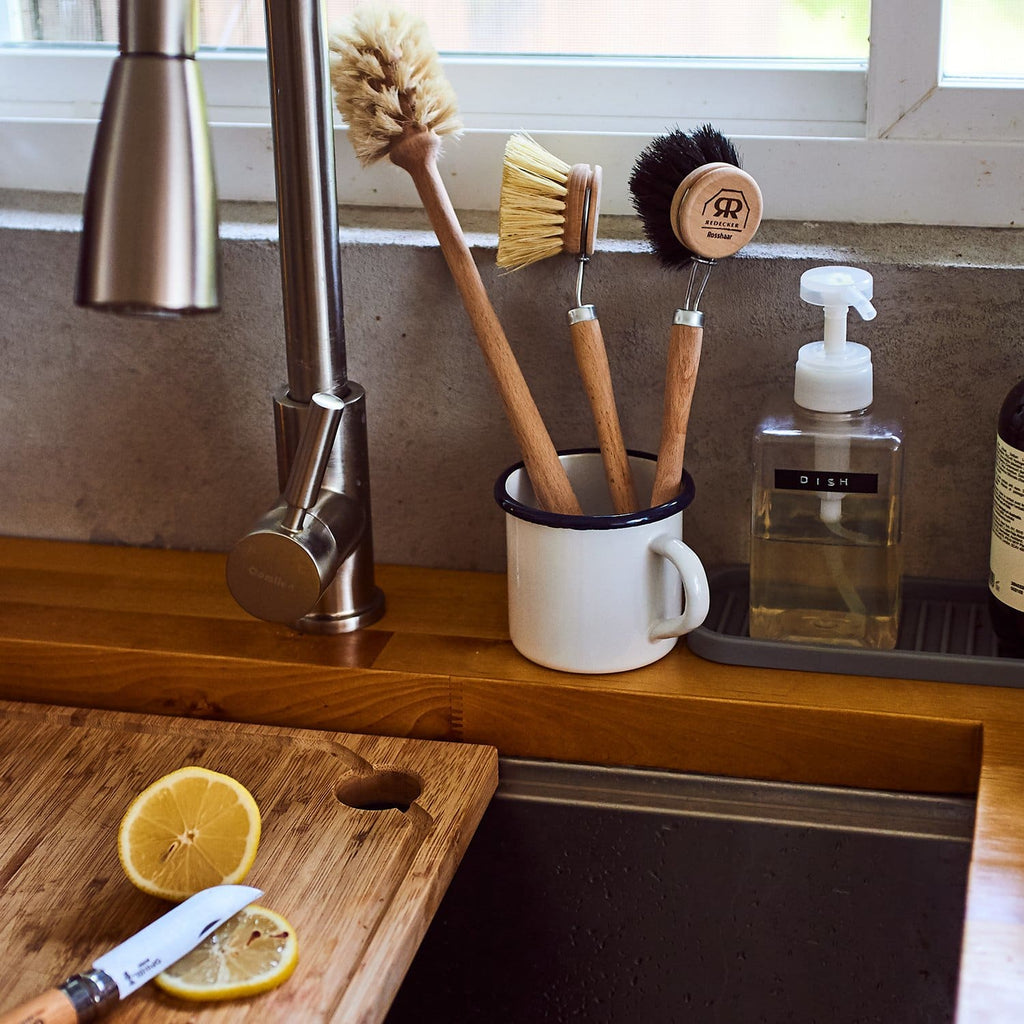 Dish Brush Head - Black - Deck the House - Dishes - Kitchen