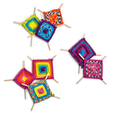 DIY Teeny Ojo de Dios Kit