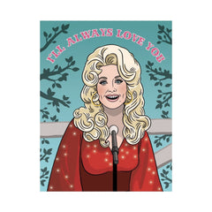 Dolly Love Greeting Card Blank Card, Cards, Celeb, Celebrity