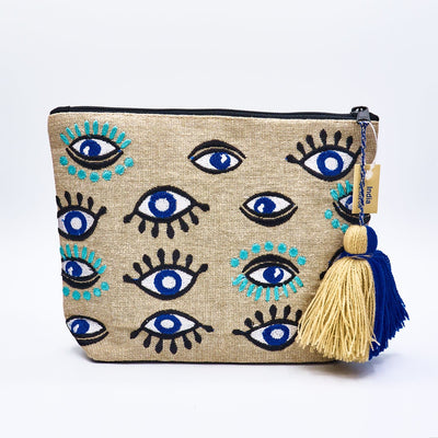 Evil Eye Cosmetic Bag