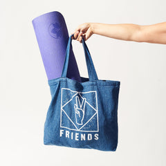 Friends Denim Tote - Friends Nyc - Tote Bag - Work it out