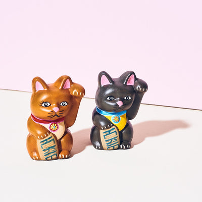 Good Luck Cat Figurine