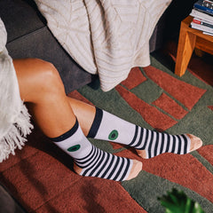 Green Eyed Socks Accessories - Doiy - Green - Socks -