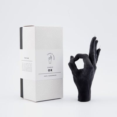 Hand Candle - ok Black, Candle, Candlehand, Hand, Hand
