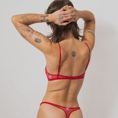 Only Hearts between Lily Thong Bra - Hearts - keep it Sexy -