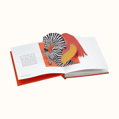Hermes Pop up Book Art Book, Childrens Gift, Coffee Table