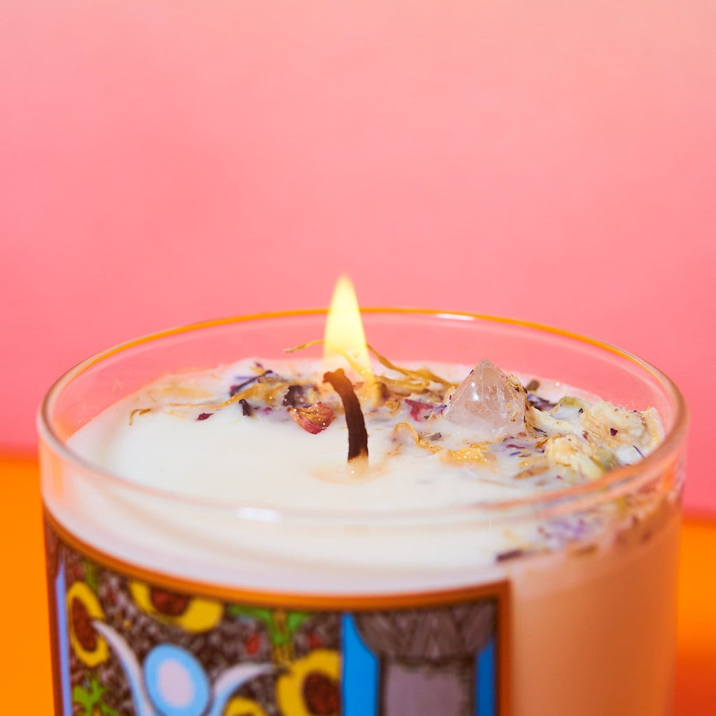 6 Oz Soy Tarot Candle Mfc Highprie - Candle - Crystalshoppe