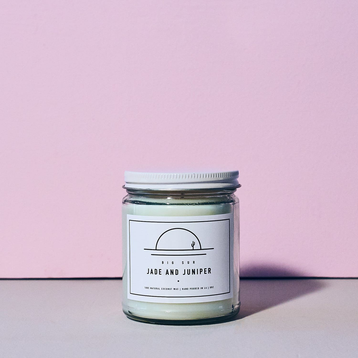 Jade and Juniper Candle - Big Sur Candle - Earthy - Home