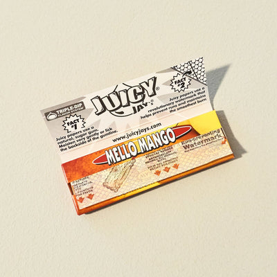 Juicy Jay's Mello Mango Rolling Papers Flavored Papers,