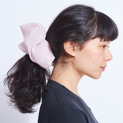 Large Pink Scrunchie