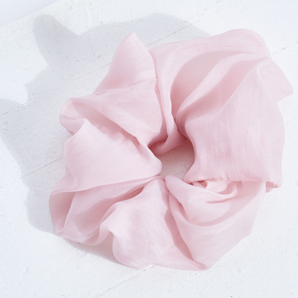 Large Pink Scrunchie 80s, Clips, Hair, Hair Accessories,